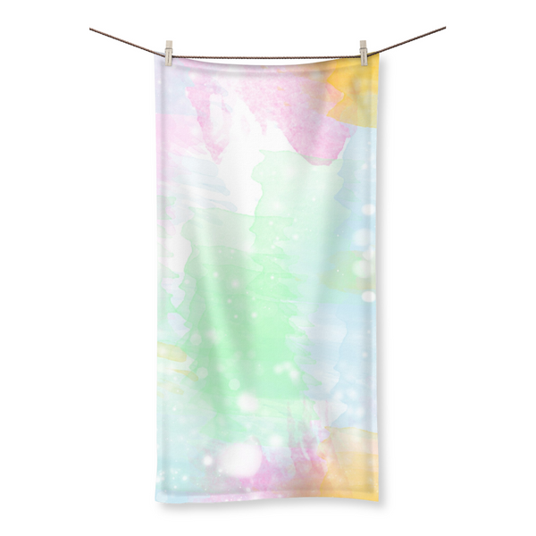 Green Spring Beach Towel