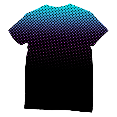 Gradient Dots Unisex Sublimation T-Shirt