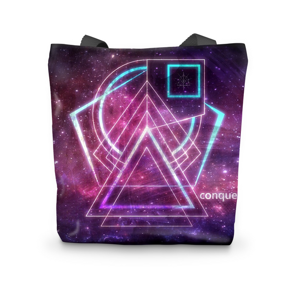 Space Conquest Tote Bag
