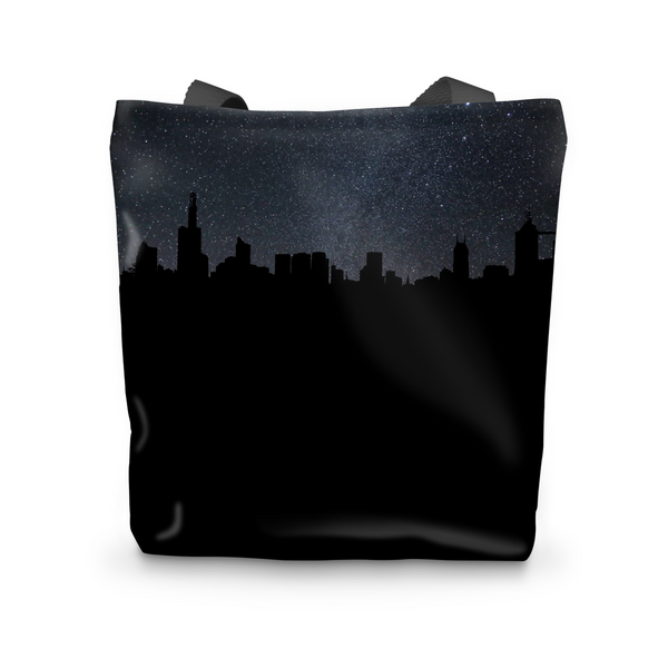 City By Night Tote Bag