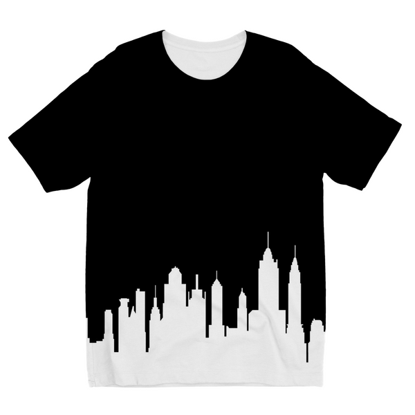 New York Skyline Kids Sublimation T-Shirt
