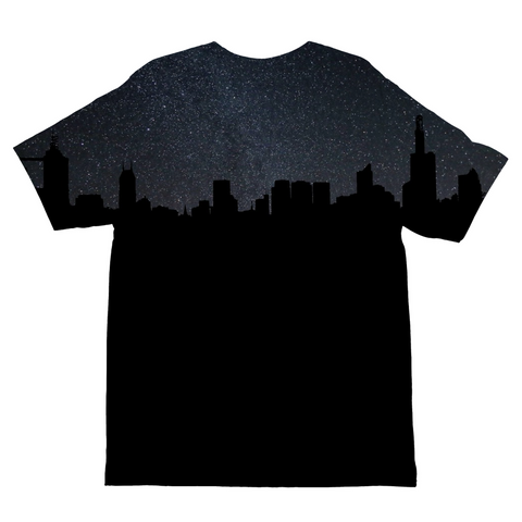 City By Night Kids Sublimation T-Shirt
