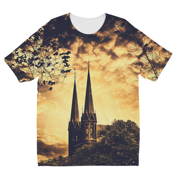 Gothic Church Kids Sublimation T-Shirt