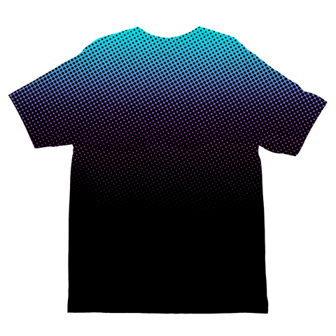 Gradient Dots Kids Sublimation T-Shirt