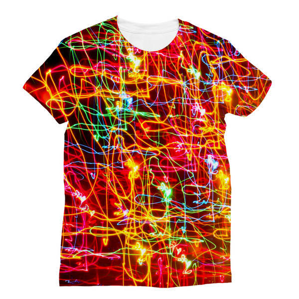 City Lights Unisex Sublimation T-Shirt