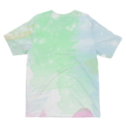 Green Spring Kids Sublimation T-Shirt