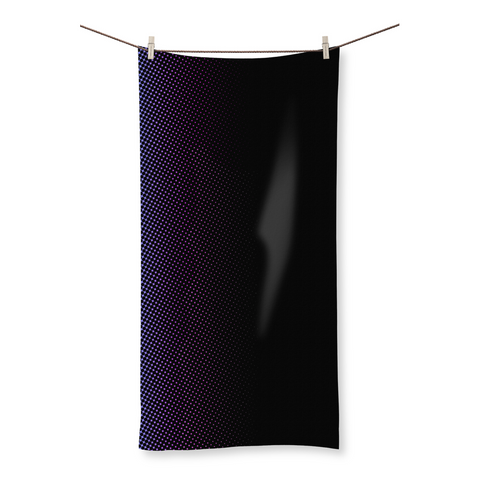 Gradient Dots Beach Towel