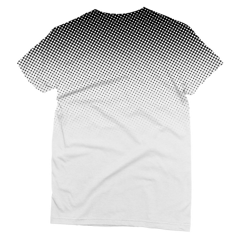 Black Dots Unisex Sublimation T-Shirt