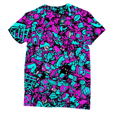 Neon Punk Unisex Sublimation T-Shirt