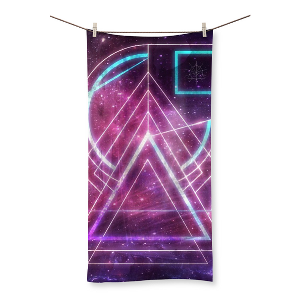 Space Conquest Beach Towel