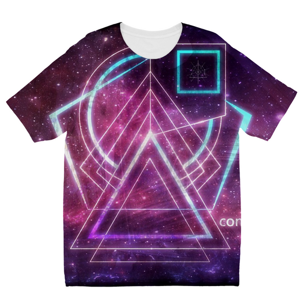 Space Conquest Kids Sublimation T-Shirt