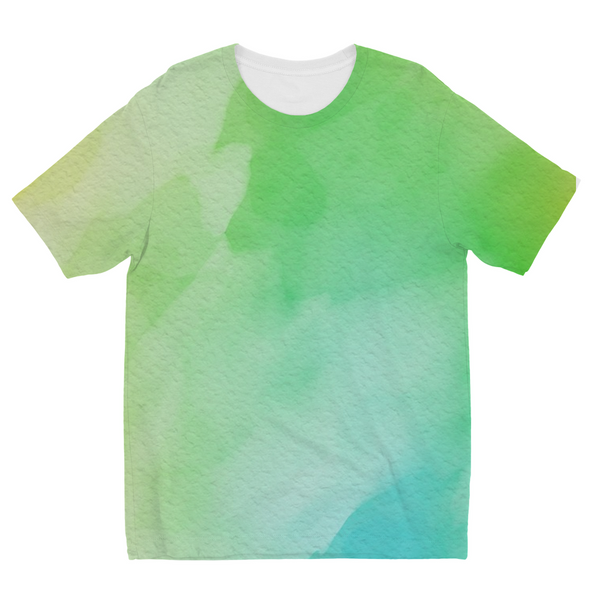 Water Blue Kids Sublimation T-Shirt