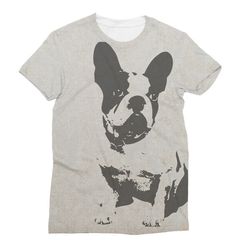 French Bulldog Unisex Sublimation T-Shirt