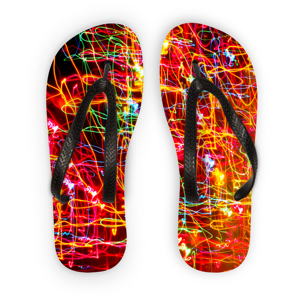 City Lights Flip Flops