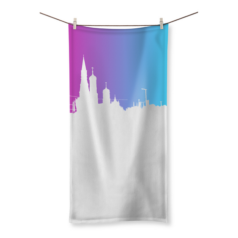 Skyline Beach Towel