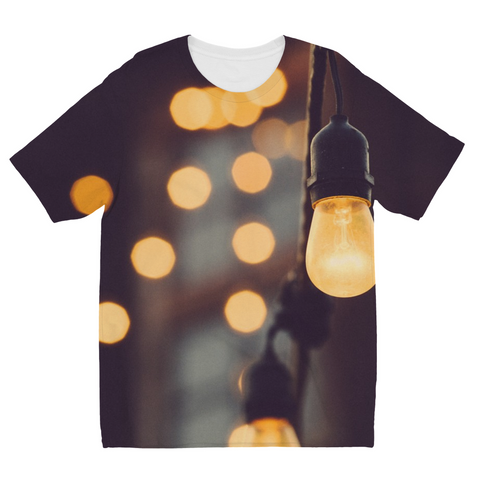 Paris Lights Kids Sublimation T-Shirt
