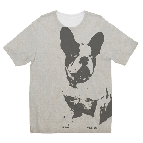 French Bulldog Kids Sublimation T-Shirt