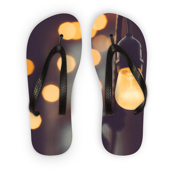 Paris Lights Flip Flops