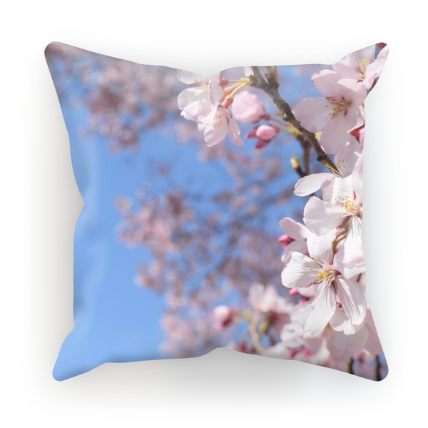 Cherry Flowers Pillow