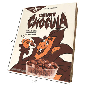 General Mills Count Chocula Vac-tastic Plastic Mask