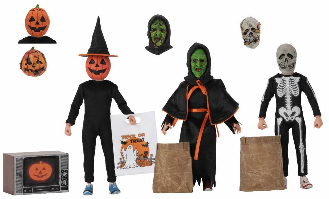 Halloween III Season of the Witch Clothed Figure 3 Pack 8in Scale