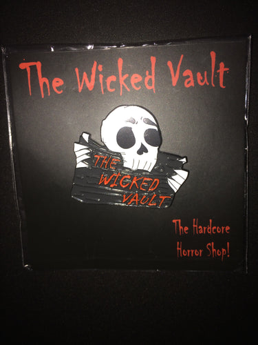 The Wicked Vault Logo Soft Enamel Pin