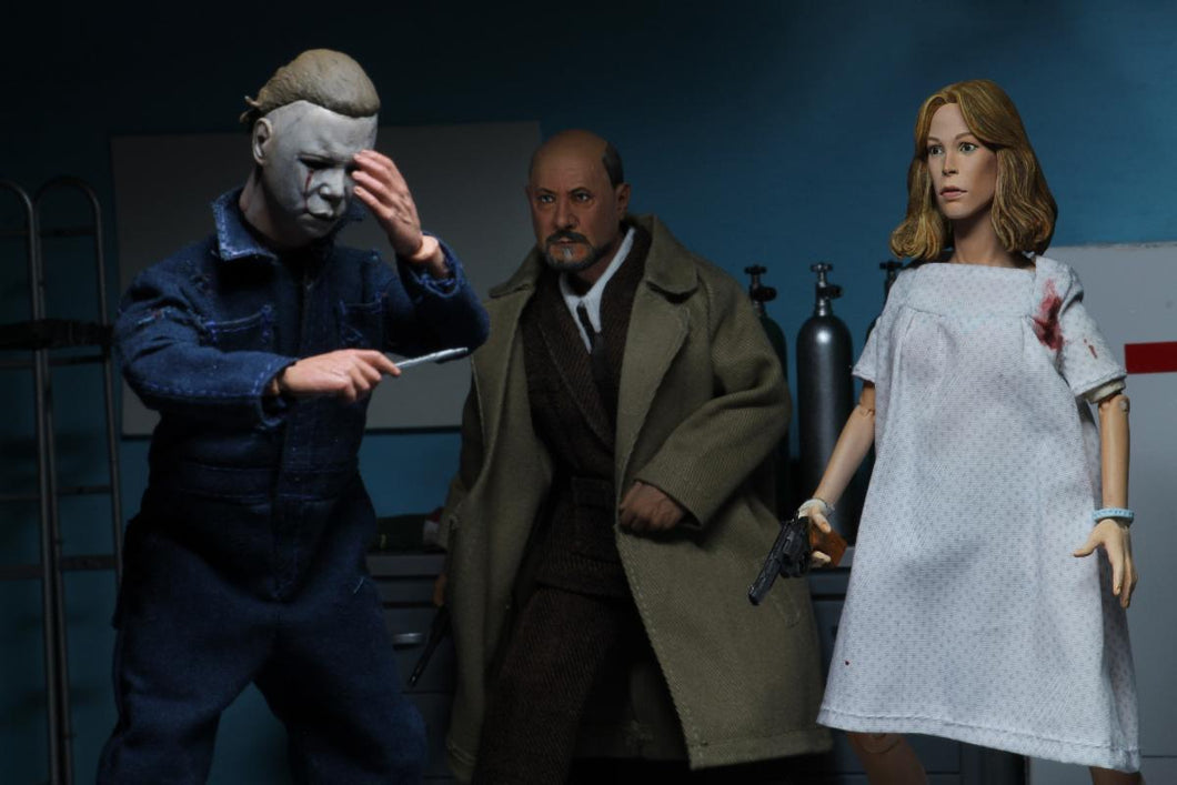 Halloween 2 Michael Myers, Laurie Strode & Dr. Loomis 8