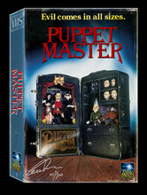 Vintage VHS Collection #1: Puppet Master (signed/numbered)