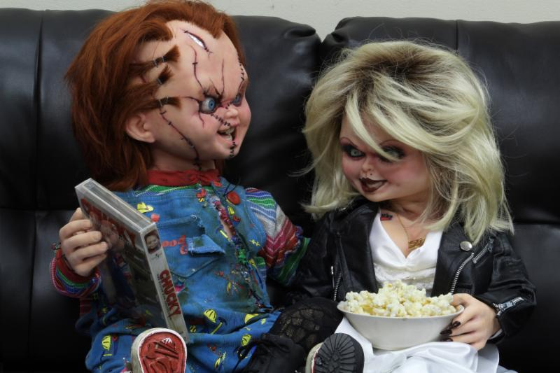 Bride of Chucky 1:1 Replica Life-Size Tiffany Prop