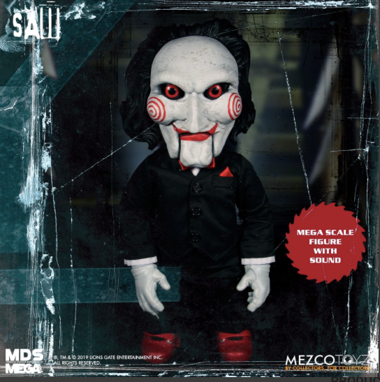 Saw Talking Billy MDS Mega Scale Figure