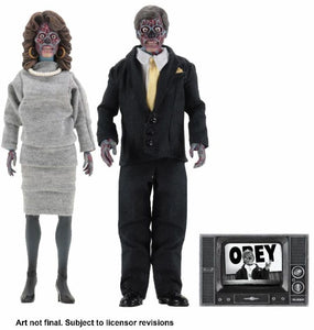 John Carpenter's They Live Retro Style Action Figures 2 Pack