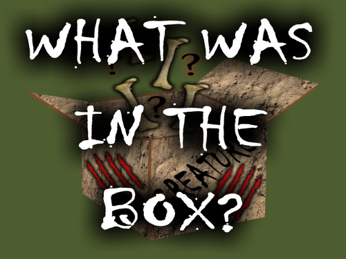 PREVIOUS BOX- Creature Theme
