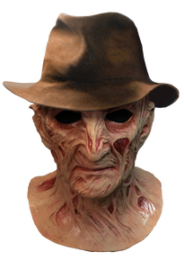A Nightmare On Elm Street 4 The Dream Master Deluxe Freddy Krueger Mask With Fedora Hat