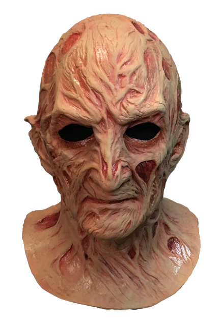 A Nightmare On Elm Street 4 The Dream Master Deluxe Freddy Krueger Mask