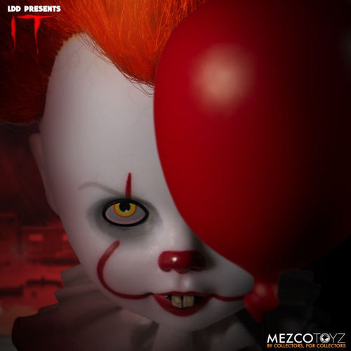 Stephen King's IT 2017 Pennywise Living Dead Doll