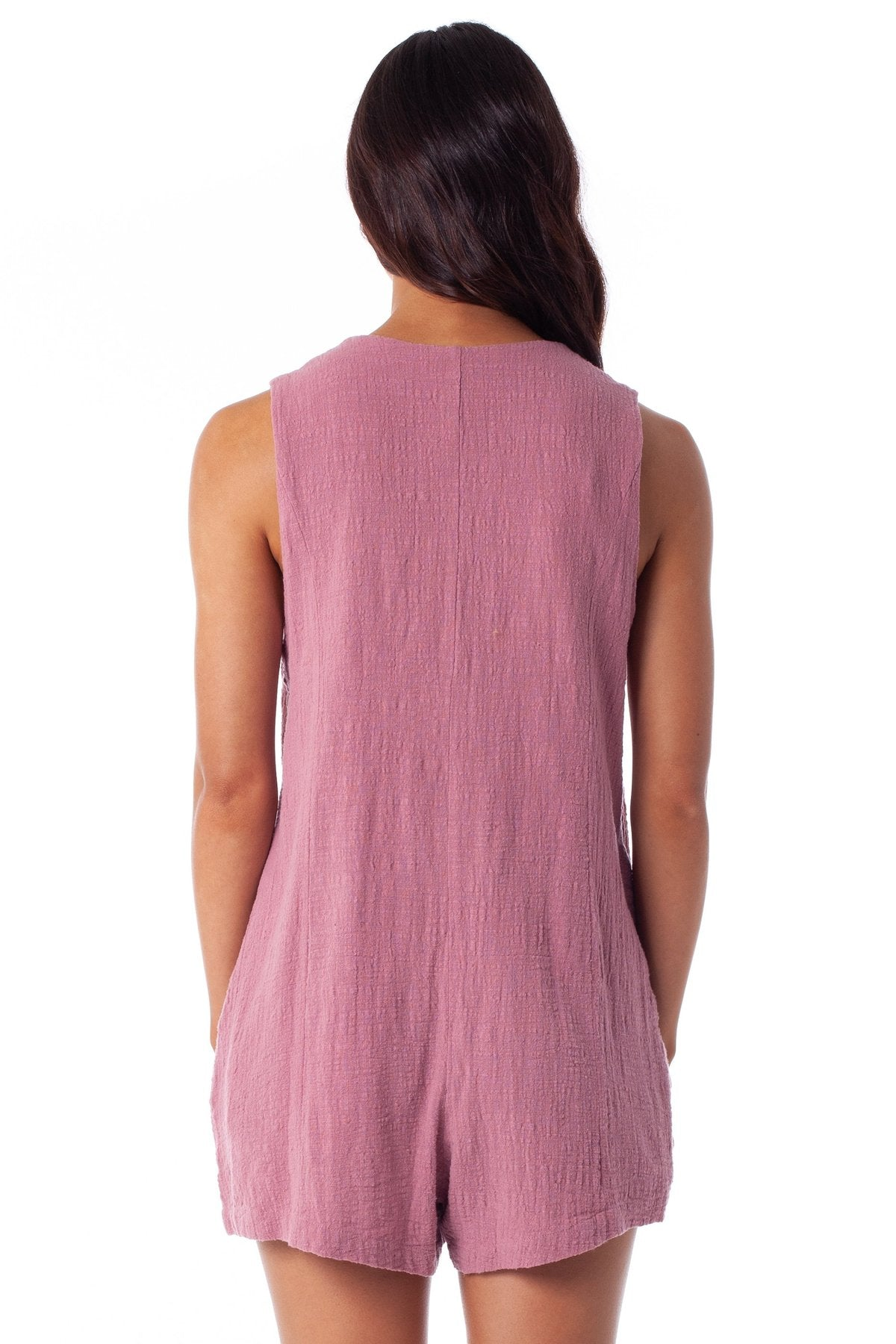 Sundown Romper - Mauve