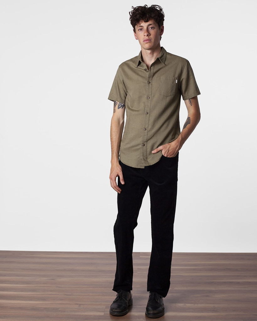 Apartment Short Sleeve Shirt - Dried Herb