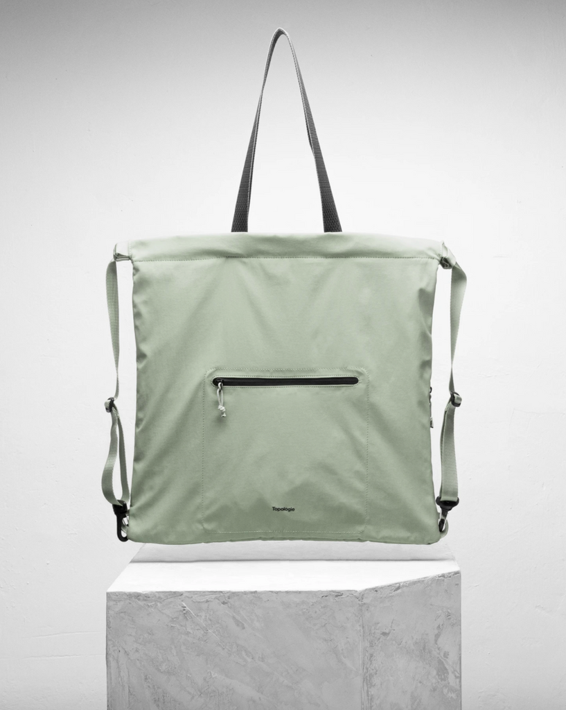 Draw Tote - Moss