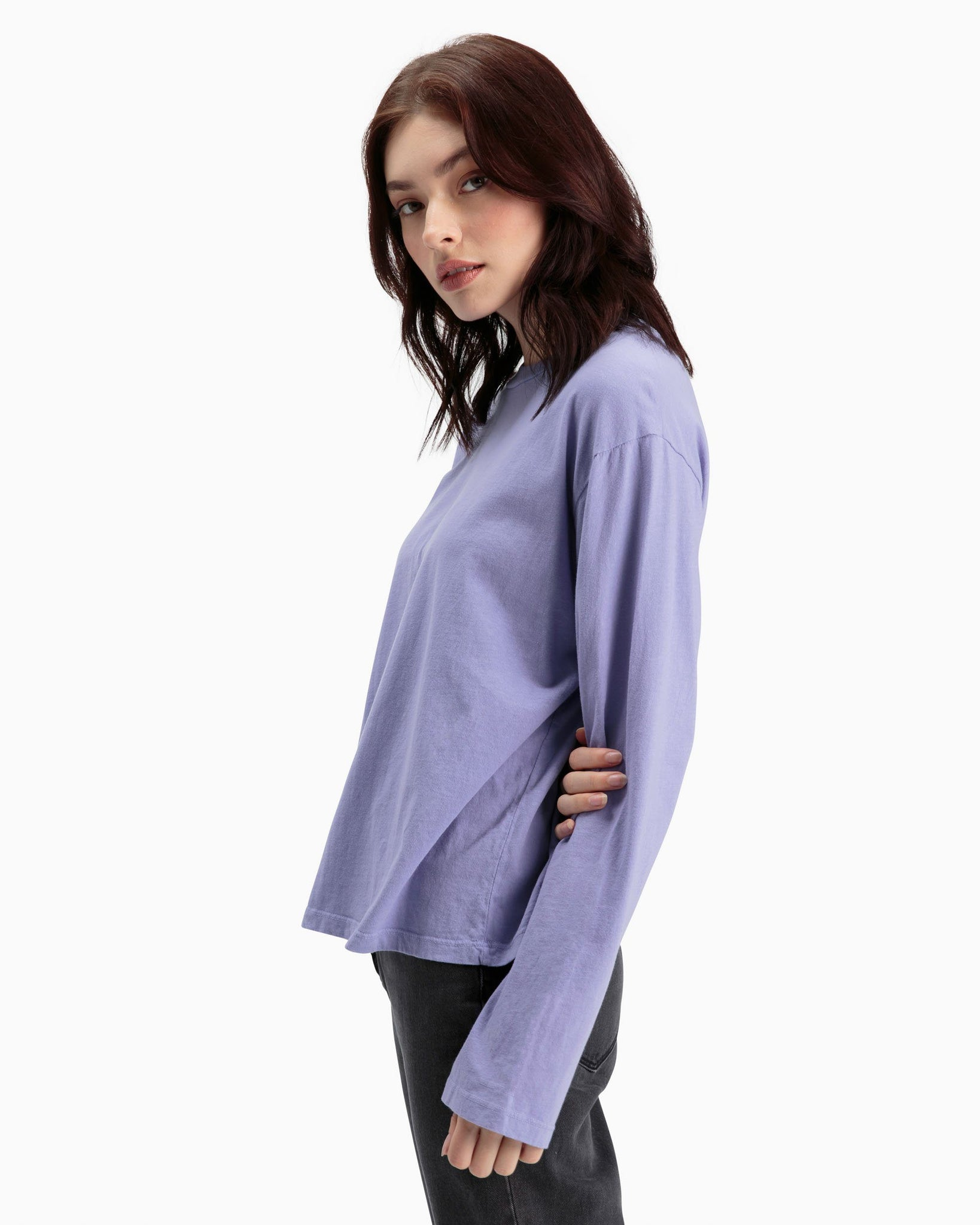 Long Sleeve Standard T-Shirt - Electric Violet