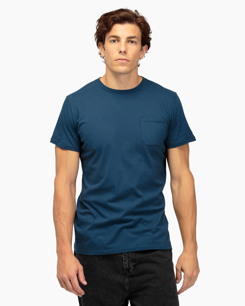 Men's Pocket Crew Tee - Navy