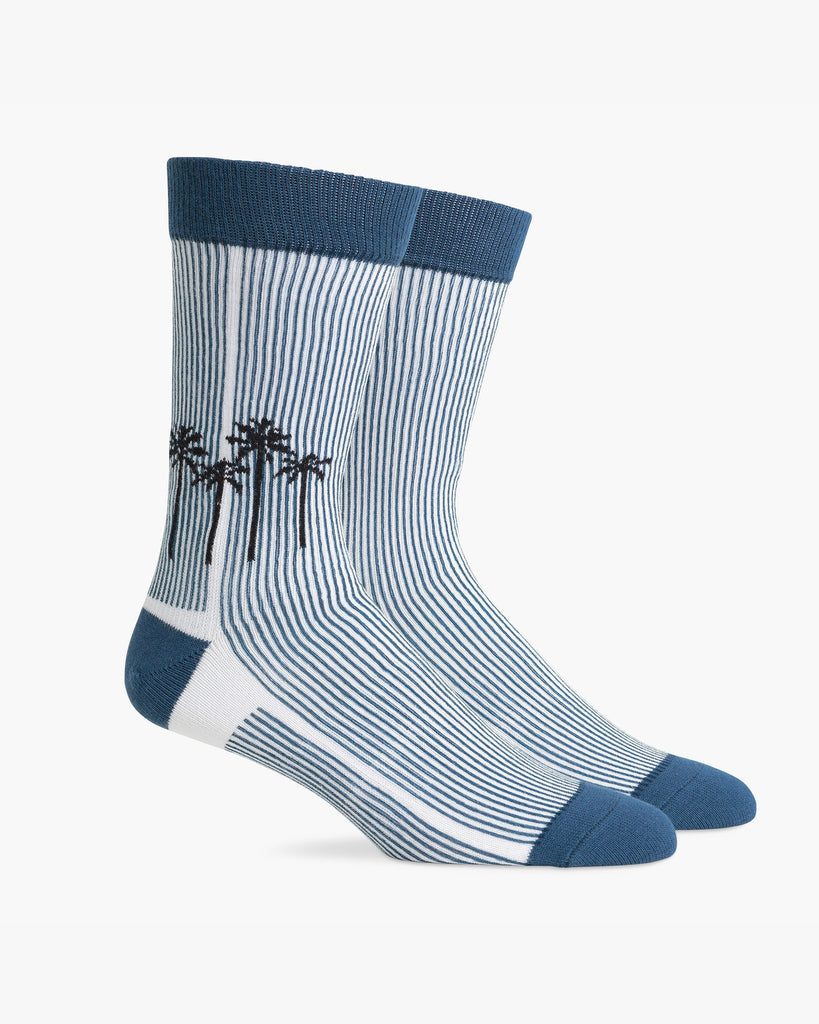 Men's Marina Socks - Blue & Black