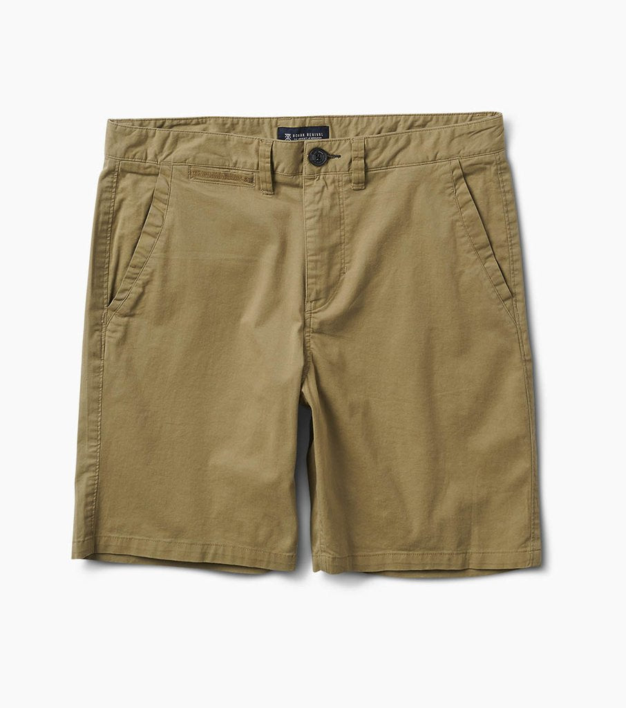 "Porter Stretch Shorts 19"" - Khaki"