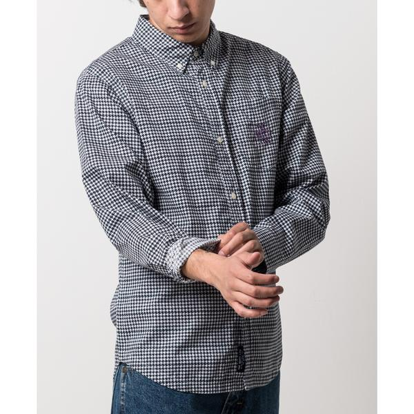 Houndstooth Button Down
