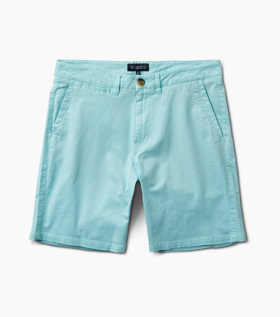 "Porter Midweight Shorts 19"" - Light Blue"