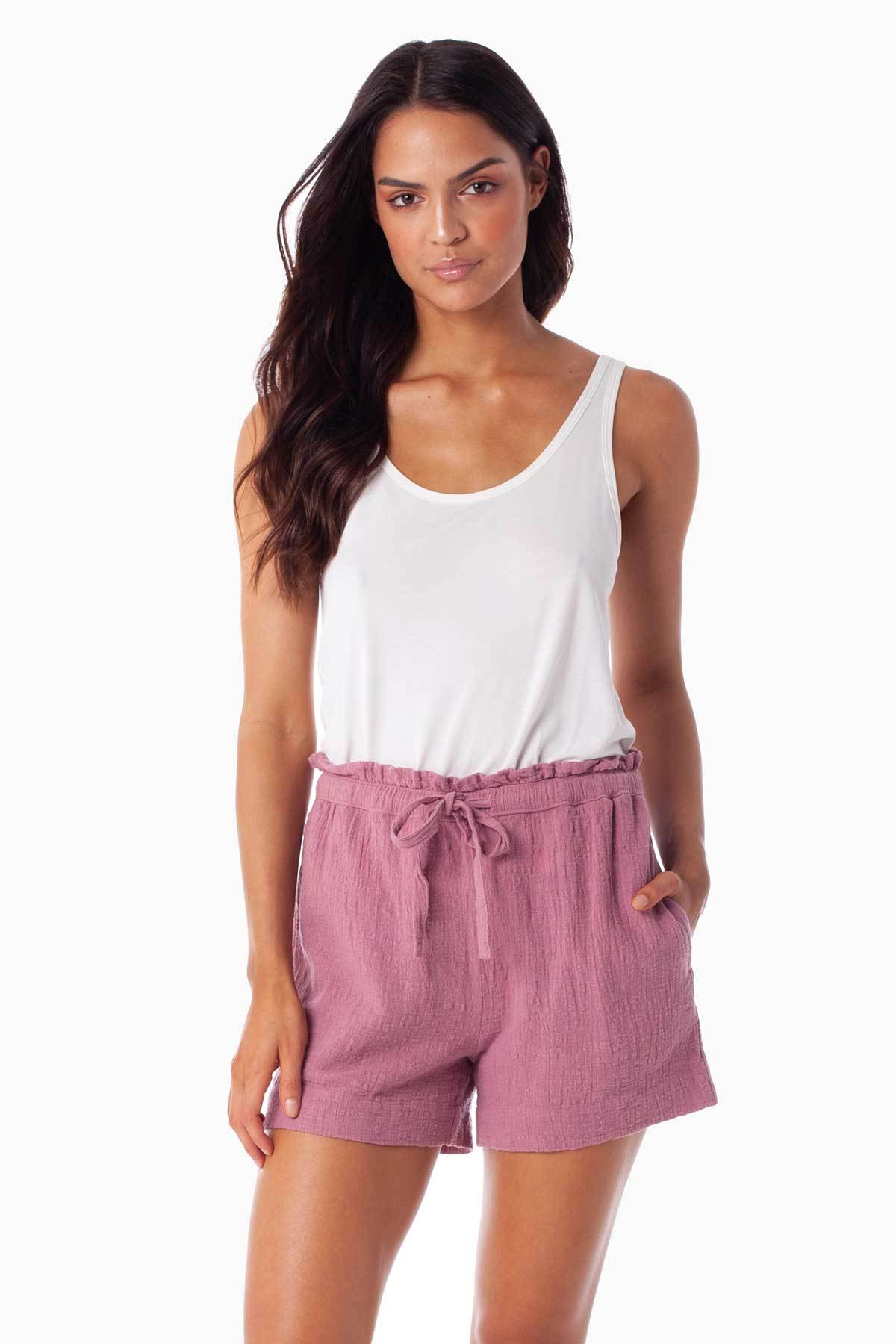 Sundown Short - Mauve