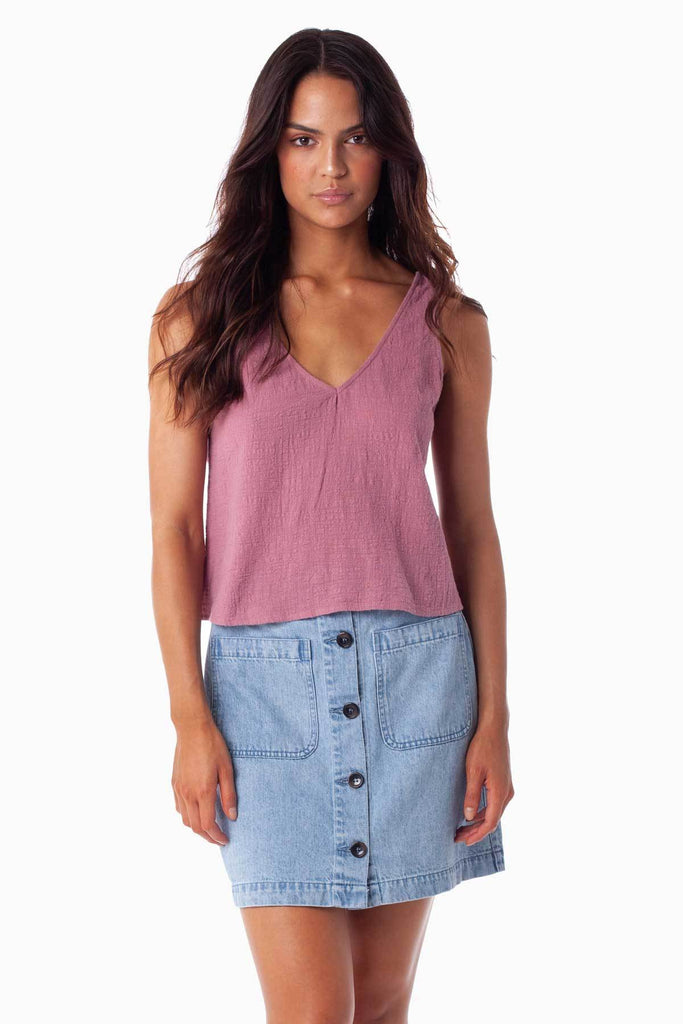 Sundown Top - Mauve