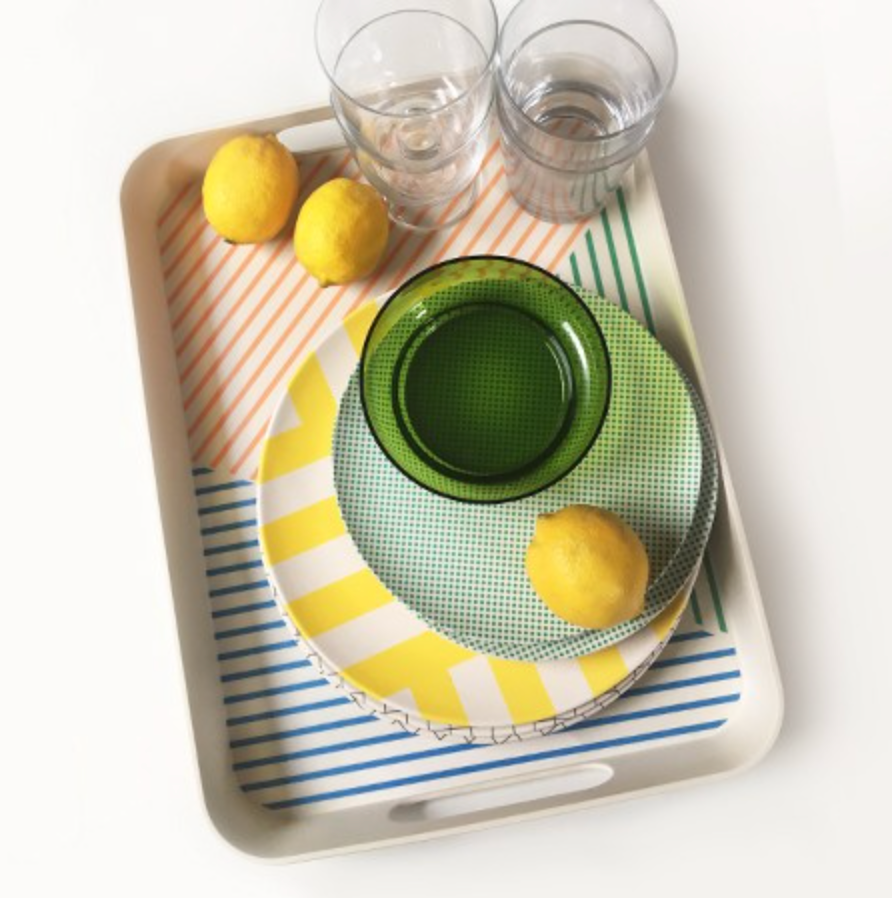 Marseille Bamboo Serving Tray
