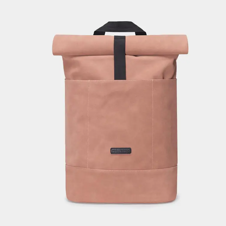 Hajo Suede Backpack - Salmon