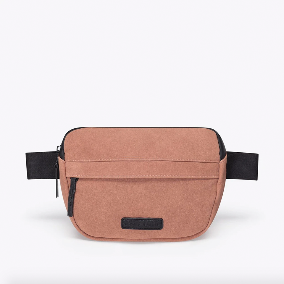 Jacob Suede Bag - Salmon