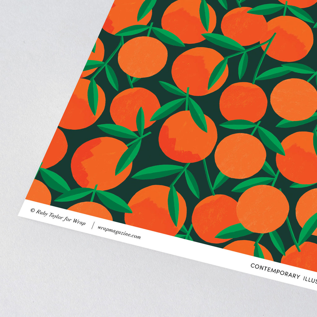 Clementines Wrapping Paper